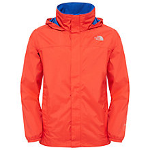 Buy The North Face Boys' Resolve Lightweight Hooded Jacket, Orange Online at johnlewis.com