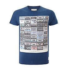 Buy Supremebeing On The Reel Tee, Navy Online at johnlewis.com