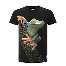 Buy Supreme Being Frog Tree Tee, Black Online at johnlewis.com