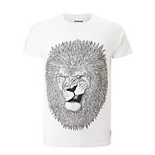 Buy Supreme Being Sunrah Lion Tee, White Online at johnlewis.com