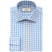Buy Thomas Pink Alder Super Slim Check Shirt Online at johnlewis.com