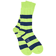 Buy Thomas Pink Hinckley Cashmere Blend Stripe Socks Online at johnlewis.com