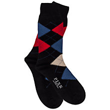 Buy Thomas Pink Argyle Merino Blend Socks Online at johnlewis.com