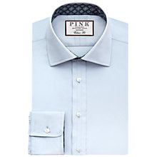 Buy Thomas Pink Nicholson Plain Shirt, Blue/Navy Online at johnlewis.com
