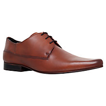 Buy KG by Kurt Geiger Flynn Plain Toe Pointed Derby Shoes Online at johnlewis.com