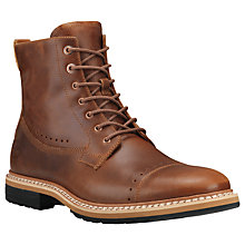 Buy Timberland West Haven Leather Side Zip Boots, Tan Online at johnlewis.com