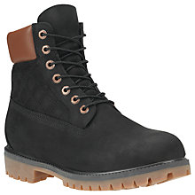 Buy Timberland Icon Quilted 6-Inch Premium Boots, Black Quilted Online at johnlewis.com