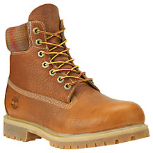 Buy Timberland  6-Inch Premium Waterproof Boots, Claypot/Pendleton Online at johnlewis.com