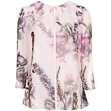 Buy Ted Baker Torchlit Floral Top, Rosily Online at johnlewis.com