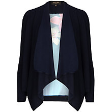 Buy Ted Baker Flora Cardigan, Dark Blue Online at johnlewis.com