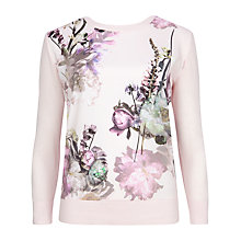 Buy Ted Baker Torchlit Floral Jumper, Rosily Online at johnlewis.com