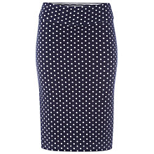 Buy White Stuff Noma Reversible Skirt, Navy Online at johnlewis.com