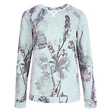 Buy Ted Baker Torchlit Floral Jumper, Pistachio Online at johnlewis.com