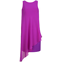 Buy Ted Baker Asymmetric Drape Tunic Dress, Purple Online at johnlewis.com
