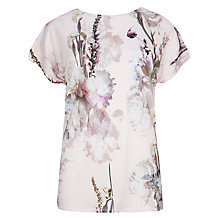Buy Ted Baker Torchlit Floral Tee, Rosily Online at johnlewis.com