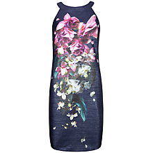 Buy Ted Baker Floral Dress, Midnight Navy Online at johnlewis.com