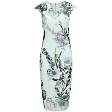 Buy Ted Baker Bavaria Floral Midi Dress, Mint Online at johnlewis.com