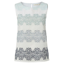 Buy White Stuff Ebony Vest Top, White Online at johnlewis.com