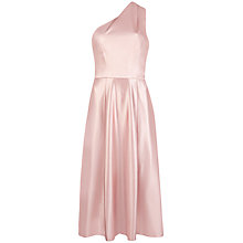 Buy Ted Baker Edy One Shoulder Dress, Venetian Pink Online at johnlewis.com