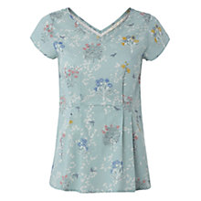Buy White Stuff Spring Top, Teal Online at johnlewis.com
