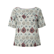 Buy White Stuff Spot Flower Top, Multi Online at johnlewis.com