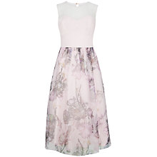 Buy Ted Baker Torchlit Floral Dress, Baby Pink Online at johnlewis.com