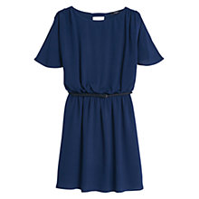 Buy Mango Textured Belt Dress Online at johnlewis.com