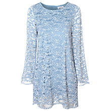 Buy True Decadence Lace Swing Dress, Blue Online at johnlewis.com