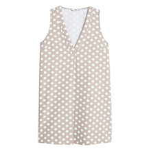 Buy Mango Polka Dot Dress, Grey Online at johnlewis.com