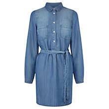 Buy Oasis The Georgia Dress, Denim Online at johnlewis.com