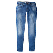 Buy Mango Push Up Uptown Jeans, Blue Online at johnlewis.com