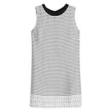 Buy Mango Geometric Print Top, Natural White Online at johnlewis.com