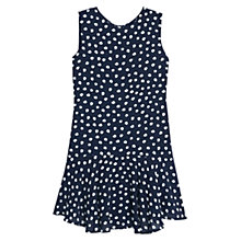 Buy Mango Polka Dot Shift Dress, Navy Online at johnlewis.com