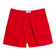 Buy Mango Flowy Shorts, Red Online at johnlewis.com