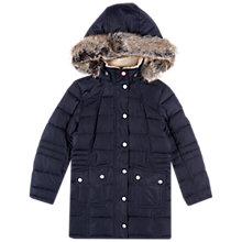 Buy Barbour Girls' Landry Long Quilt Coat Online at johnlewis.com