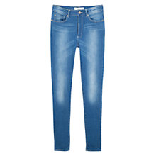 Buy Mango Noa Skinny Jeans, Blue Online at johnlewis.com