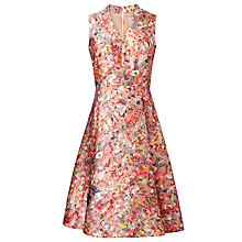 Buy L.K. Bennett Suze Ditsy Floral Print Full Skirt Dress, Popsicle Online at johnlewis.com
