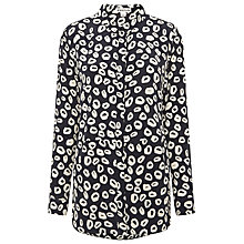 Buy Whistles Mini Loop Print Shirt, Multi Online at johnlewis.com