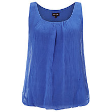 Buy Phase Eight Silk Sleeveless Blouse, Kos Blue Online at johnlewis.com