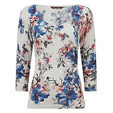 Buy Phase Eight Aletta Print Top, Multi Online at johnlewis.com