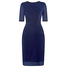 Buy Whistles Maria Bodycon Dress, Navy Online at johnlewis.com