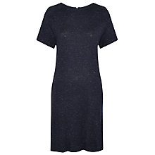 Buy Whistles Annie Sparkle Dress, Navy Online at johnlewis.com
