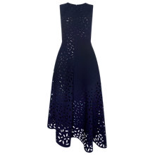 Buy Whistles Cut Out Floral Dress, Navy Online at johnlewis.com
