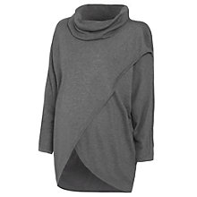 Buy Séraphine Missing Maternity Nursing Jumper, Grey Online at johnlewis.com