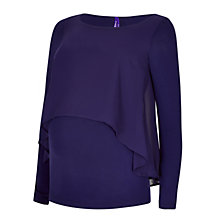 Buy Séraphine Kathleen Maternity Nursing Top, Twilight Online at johnlewis.com