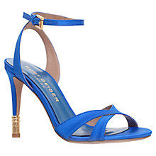 Buy Kurt Geiger Chelsea Slim Strap Stiletto Sandals Online at johnlewis.com