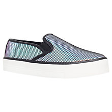 Buy Carvela Lux Flatform Slip On Trainers Online at johnlewis.com