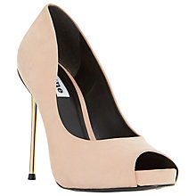 Buy Dune Desiree Peep Toe Stiletto Court Shoes Online at johnlewis.com