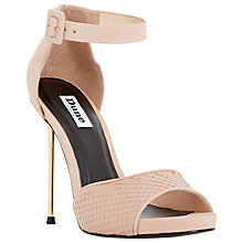 Buy Dune Marny Nubuck Cigarette Heel Sandals Online at johnlewis.com
