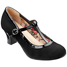 Buy Hotter Michelle Suede T-Bar Mary Jane Court Shoes Online at johnlewis.com